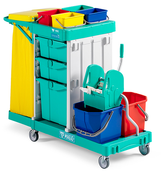 Bucket Trolleys Products Supplier in Qatar | Hicareqatar com