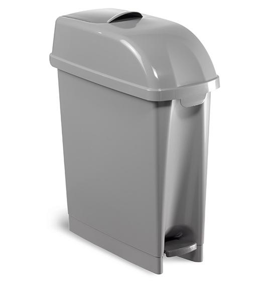 Sanitary Bin Grey - 17 L supplier in qatar