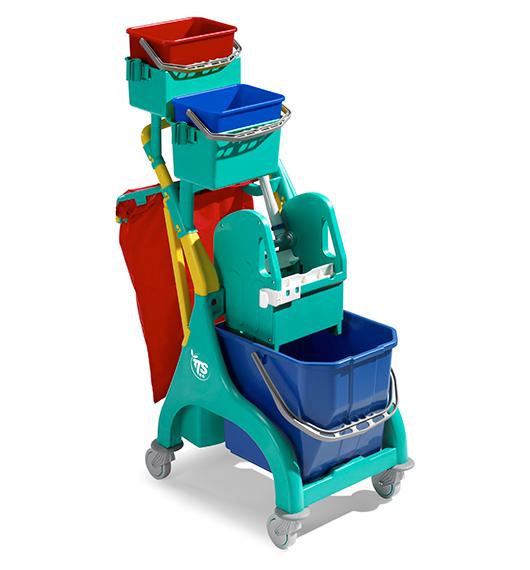 Single Bucket Trolley Nick Plus 30 L supplier in qatar