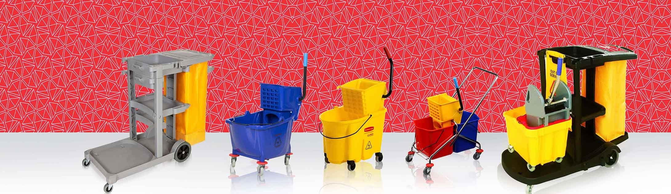 Best Mop Buckets Trolley Supplier in Qatar | Hicareqatar com